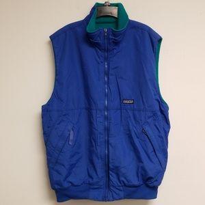 Patagonia Royal Blue Zip Up Vest